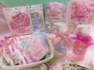 春の香りを楽しむ桜グッズ✿プチギフトにおすすめ