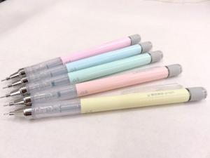 トンボ鉛筆 春色新色パステルカラー シャーペン モノグラフ 発売