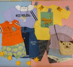 ベビー&キッズ、ジュニア服 夏の大セールが始まります